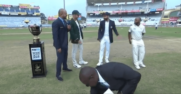 IND vs SA 3rd Test: WATCH – Virat Kohli breaks into laughter as Faf du Plessis' proxy captain loses the toss
