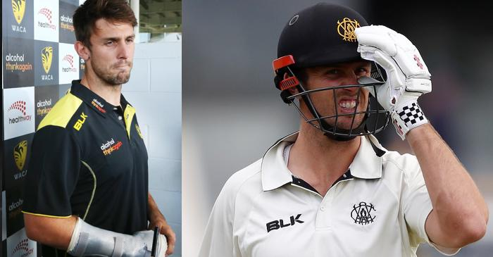 Mitchell Marsh opens up after breaking his hand punching dressing room wall