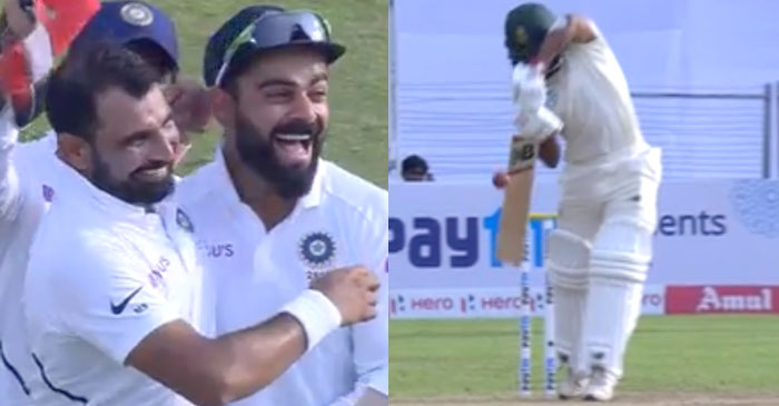 IND v SA 2nd Test: WATCH – Mohammed Shami, Virat Kohli make right DRS call to dismiss Temba Bavuma