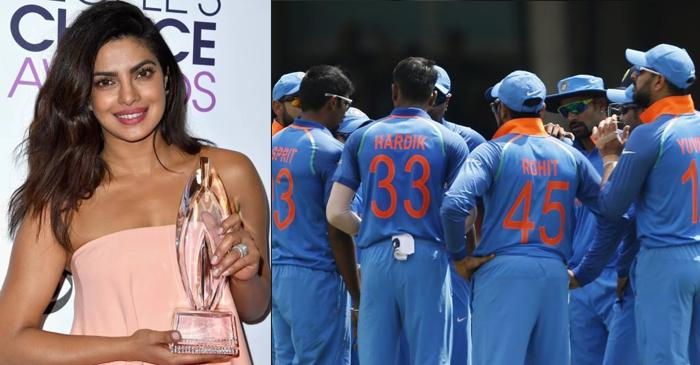 Priyanka Chopra reveals the name for her two current favourite cricketers