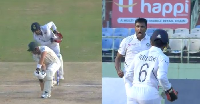 WATCH: Ravichandran Ashwin outfoxes Aiden Markram with a peach of a delivery on Day 2 of Vizag Test