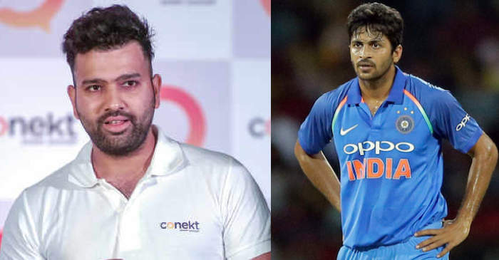 Rohit Sharma Takes A Hilarious Dig At Shardul Thakur On His Birthday