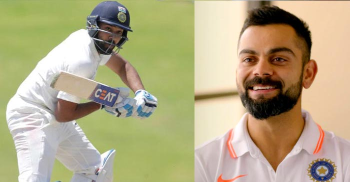 India vs South Africa: Virat Kohli has his say on Rohit Sharma's promotion to the opening slot in Tests