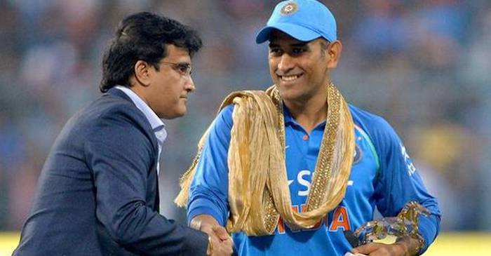 Sourav Ganguly on Ms Dhoni