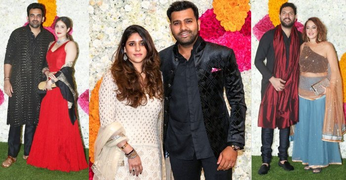 Photos: Rohit Sharma, Zaheer Khan, Yuvraj Singh and others attend Ambani's Diwali Party for team Mumbai Indians