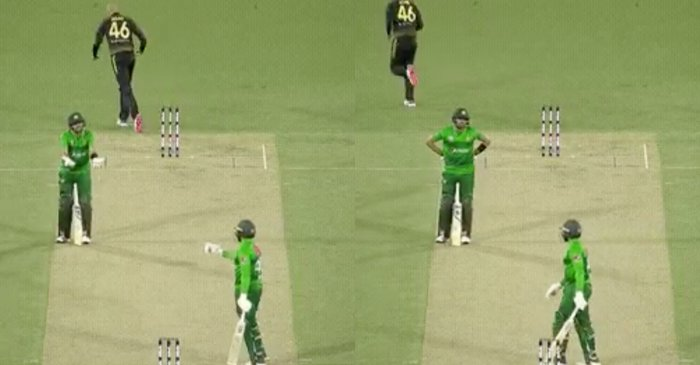 WATCH: Pakistan skipper Babar Azam loses his cool after Asif Ali throws away his wicket during 2nd T20I against Australia