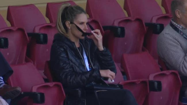 Candice Warner crying