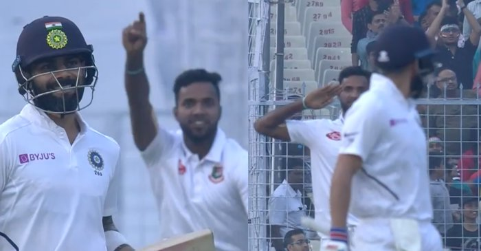 Day-Night Test: Bangladesh pacer Ebadat Hossain reveals the reason behind his salute celebration against India