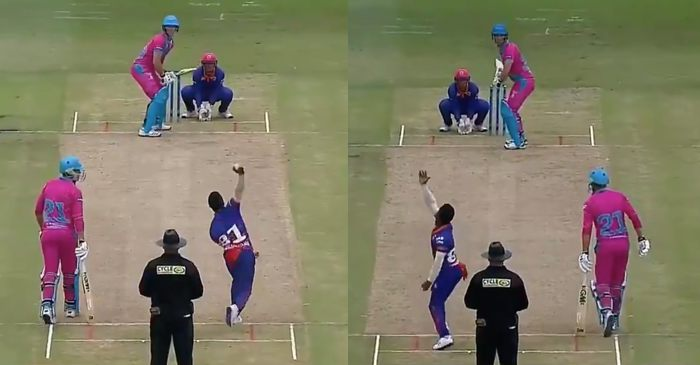WATCH: Ambidextrous Gregory Mahlokwana picks up a wicket with each hand in MSL 2019