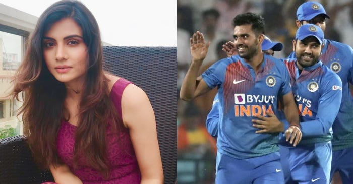 Malti Chahar proud of brother Deepak Chahar's hat-trick and best figures in T20Is