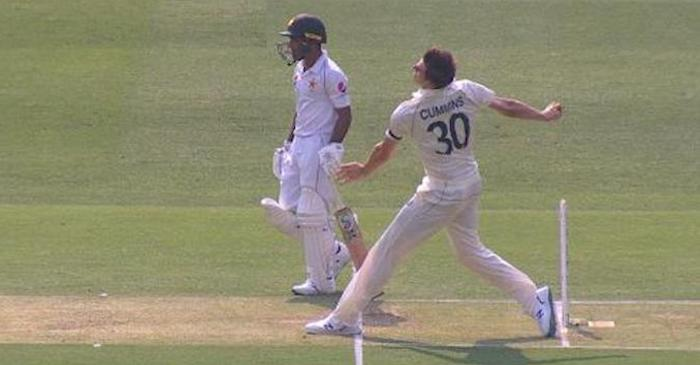 WATCH: Pat Cummins claims Mohammad Rizwan's wicket off an 'illegal delivery'