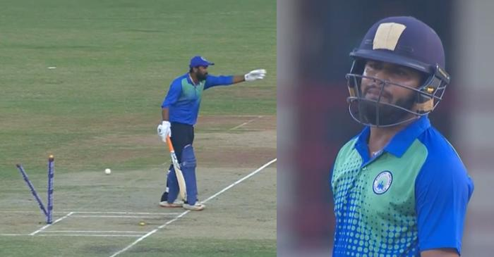 WATCH: Rahul Tewatia loses his cool at Himanshu Rana after getting run-out vs Maharashtra in Syed Mushtaq Ali Trophy