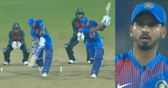 IND vs BAN 3rd T20I: WATCH – Shreyas Iyer hits three consecutive sixes off Afif Hossain in Nagpur