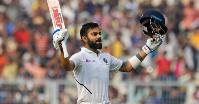 Twitter erupts as Virat Kohli becomes first Indian to smash a ton in Pink Ball Test