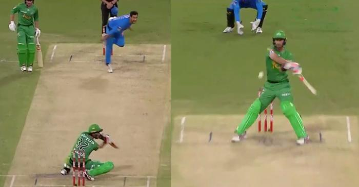 WATCH: Glenn Maxwell hits an outrageous six against Adelaide Strikes in BBL 2019-20