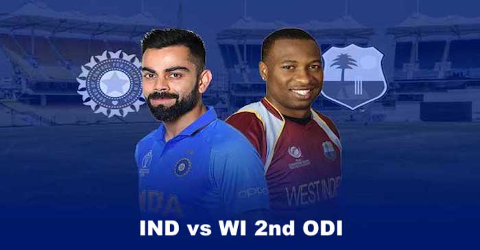 India vs West Indies 2nd ODI, Preview: Head to head stats, Team news, When and where to watch