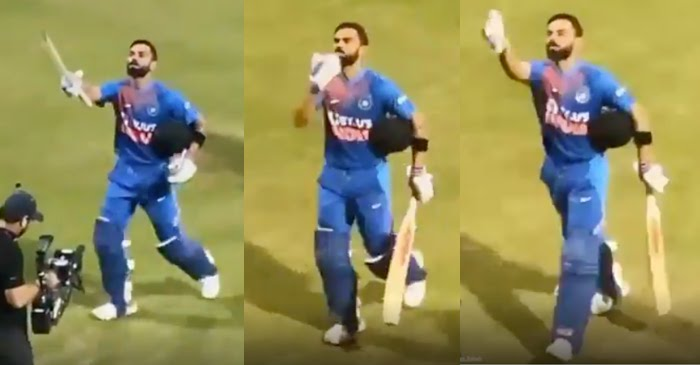 Kohli flying kiss