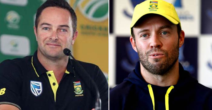Mark Boucher, AB de Villiers