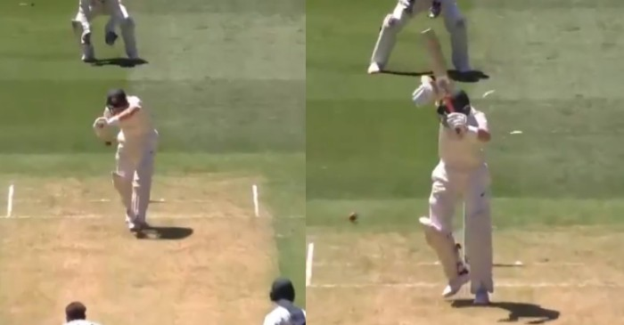 Watch Marnus Labuschagne Gets Out Bizarrely On Day One Of Boxing Day Test