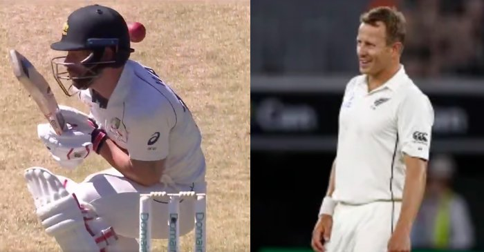 AUS vs NZ 2019: Neil Wagner hits Mathew Wade on the helmet as battle between the two continues
