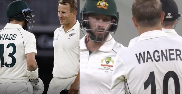 WATCH: The brutal battle between Matthew Wade and Neil Wagner during the Perth Test