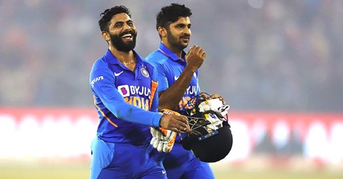 Twitter erupts as Shardul Thakur's cameo and Ravindra Jadeja's measured knock propels India to a series win in Cuttack