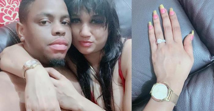 Windies young sensation Shimron Hetmyer gets engaged to his girlfriend Umrao Nirvani