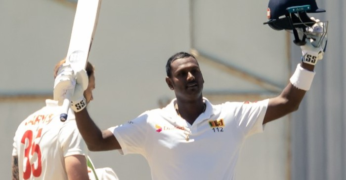 ZIM vs SL: Angelo Mathews smashes his maiden Test double ton to put Sri Lanka in commanding position