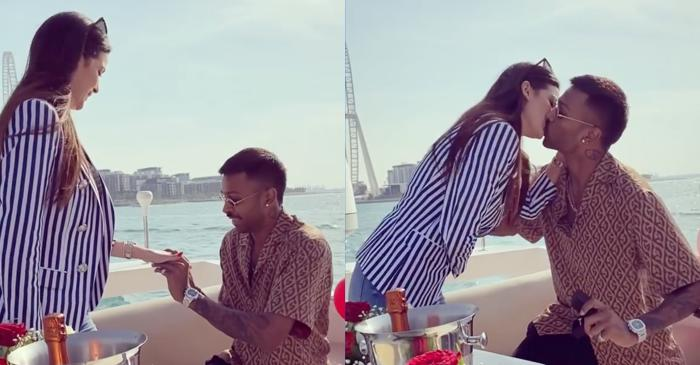 'Sealed with a kiss': Hardik Pandya gets engaged to Serbian actress Natasa Stankovic