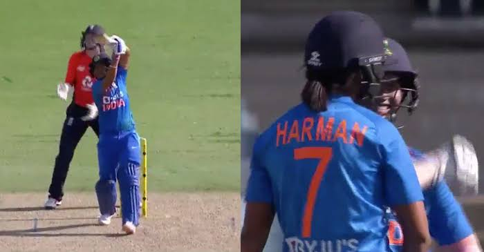 Harmanpreet Kaur SIX