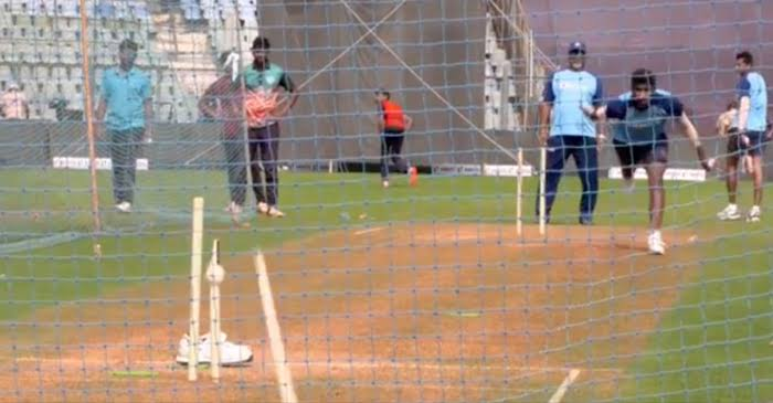 IND vs AUS: WATCH – Jasprit Bumrah, Navdeep Saini bowls lethal deliveries at the nets