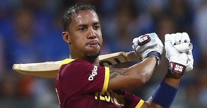 Lendl Simmons smashes his best ever T20I score as Windies level series against Ireland