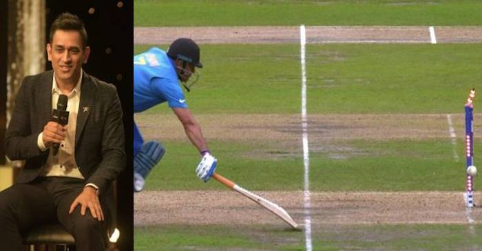 MS Dhoni, 2019 World Cup run out