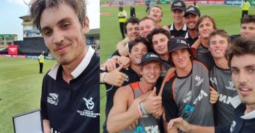 ICC U19 World Cup 2020: Kristian Clarke's all-round performance takes New Zealand to the semi-finals