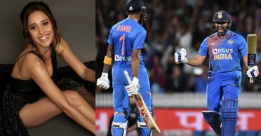NZ vs IND: Actress Nushrat Bharucha delighted as Rohit Sharma, KL Rahul finish it for India in Super Over