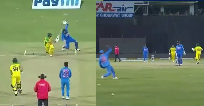 Rohit Sharma fake fielding