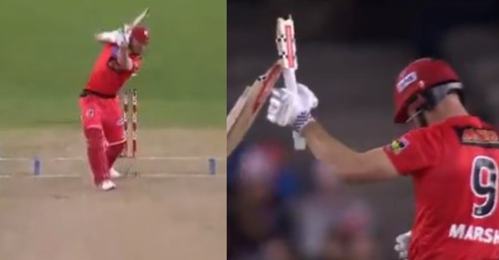 Shaun Marsh Broken Bat