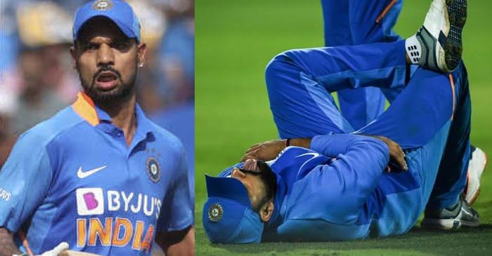 Shikhar Dhawan, Rohit Sharma injury