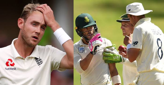 SA vs ENG: ICC punish Stuart Broad for using 'inappropriate language' at Faf du Plessis