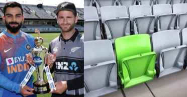 NZ vs IND: The reason why one seat at Eden Park is green while all others are grey