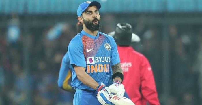 Twitter Reactions: Virat Kohli hits a 'Nataraja' six to seal the second T20I against Sri Lanka