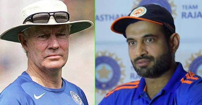 Former India coach Greg Chappell reacts after Irfan Pathan announces his international retirement