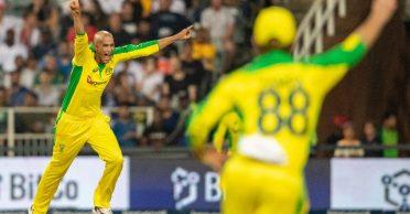 Australia all-rounder Ashton Agar's hat-trick humble South Africa with their lowest T20I score