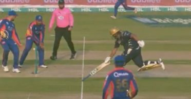 WATCH: Azam Khan becomes the butt of all jokes after his recent act in a PSL match