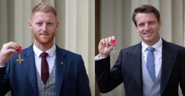 England stars Ben Stokes, Jos Buttler receive honors by the Royal Family