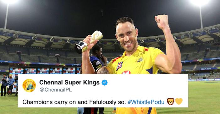Brendon McCullum, CSK and others react after Faf du Plessis steps down as South Africa... - The Cricket Times