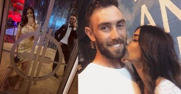 Kings XI Punjab comes up with a cheeky question for newly engaged Glenn Maxwell-Vini Raman