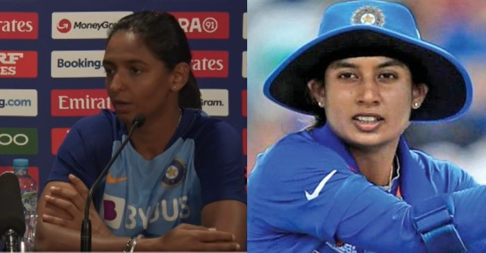 Harmanpreet Kaur and Mithali Raj