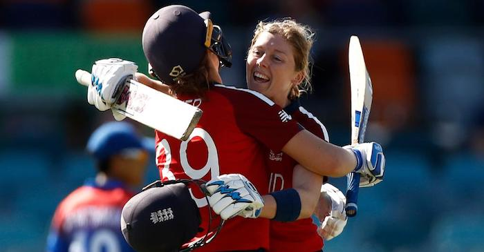 Heather Knight becomes the first centurion in Women's T20 World Cup 2020; cricket fraternity reacts