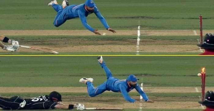 NZ vs IND: Virat Kohli does a Jonty Rhodes to run-out Henry Nicholls in Hamilton ODI